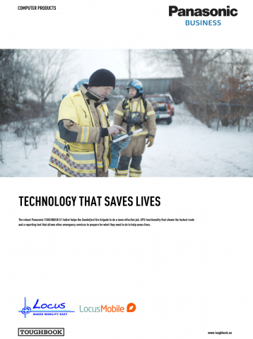 NORWEGIAN FIRE BRIGADE - FZ-G1 - Case Study